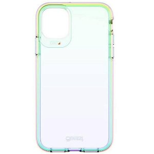 Gear4 D3O Crystal Palace iPhone 11 Plastik Cover - Gennemsigtig / Iridescent