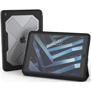 """iPad 10.2"""" (2021 / 2020 / 2019) ZAGG Rugged Messenger Håndværker Cover m. Beskyttelsesfilm - Sort"""