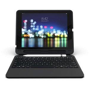 """ZAGG Slim Book Go Keyboard Cover Til iPad Pro 10.2"""" (Dansk) - Sort"""