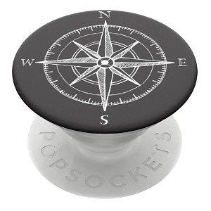 POPSOCKETS PopGrip Compass Aftageligt Greb m. Holder & Stand