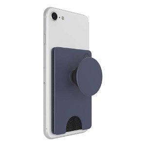 POPSOCKET PopWallet+ Aftagelig Kreditkortlomme m. Popsocket Shadow Blue
