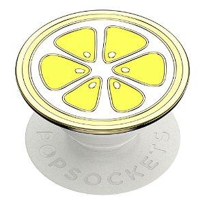 POPSOCKETS Enamel Lemon Slice Yellow Premium Holder og Stand