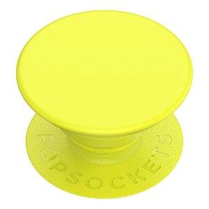 POPSOCKETS PopGrip Neon Jolt Yellow Aftageligt Greb m. Standerfunktion