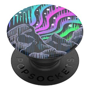 POPSOCKETS PopGrip Borealis Woodcut Aftageligt Greb m. Standerfunktion