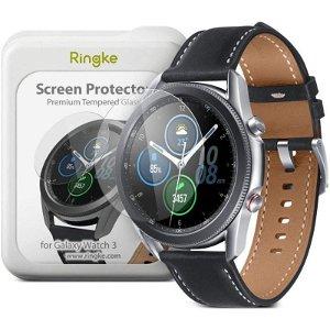 Ringke Samsung Galaxy Watch 3 (41mm) 4-pak Hærdet Glas - Skærmbeskyttelse - Gennemsigtigt
