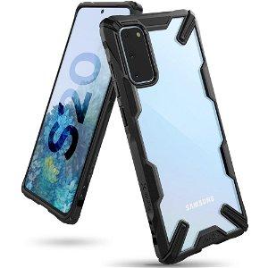 Samsung Galaxy S20 Ringke Fusion X Cover - Sort / Gennemsigtig