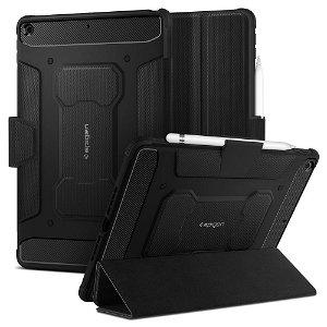 "iPad 10.2"" (2021 / 2020 / 2019) Spigen Rugged Armor Pro Cover - Sort"