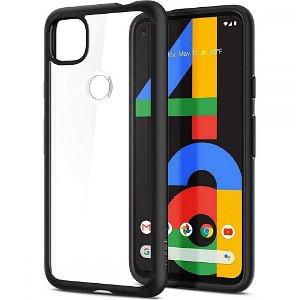 Google Pixel 4a 5G Spigen Rugged Armor Case - Sort