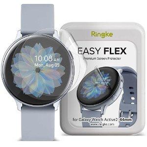 Ringke Samsung Galaxy Watch Active 2 (44mm) 3-pak Beskyttelsesfilm - Skærmbeskyttelse - Gennemsigtigt