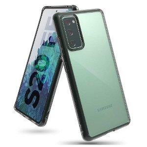 Samsung Galaxy S20 FE / S20 FE (5G) Ringke Fusion Cover - Smoke Black