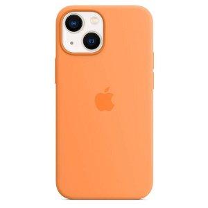 Original Apple iPhone 13 Silikone MagSafe Bagside Cover Solsikkegul (MM243ZM/A)