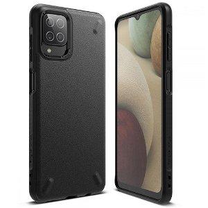 Samsung Galaxy A12 Ringke Onyx Case - Sort