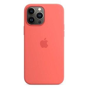 Original Apple iPhone 13 Pro Max Silikone MagSafe Bagside Cover Pink Pomelo (MM2N3ZM/A)