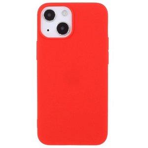 iPhone 13 Fleksibelt TPU Cover - Rød