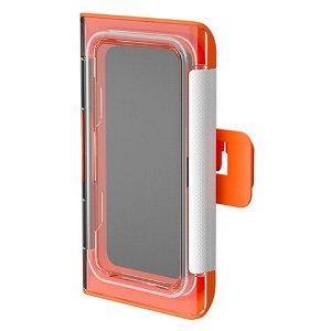 Vandtæt Cover / Holder m. Vægbeslag til Smartphone - Orange