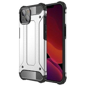 iPhone 13 Mini Armor Guard Håndværker Bagside Cover - Sølv