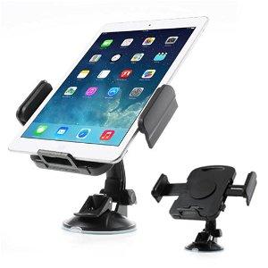 """Universal 360° Tablet Holder til Bil 7-11"""" - Sort"""