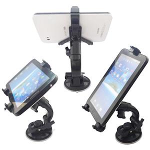 "Universal Multi-Direction Tablet Holder til Bil & Bord 7-11"""