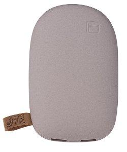 GreyLime 12W Power Stone 10.400 mAh PowerBank m. USB-A - Sandfarvet