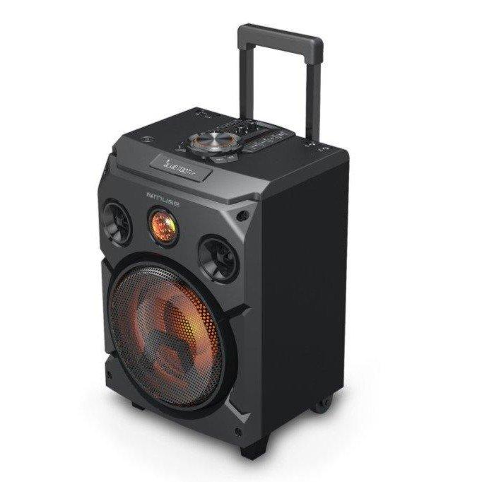 MUSE Bluetooth M-1915 DJ Party Trolly Højttaler 150W – Sort