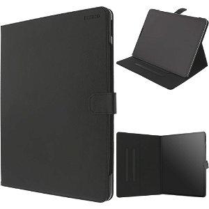 """iPad Pro 12.9"""" (2018) Deltaco Læder Cover - Sort"""