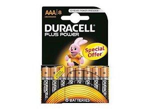 DURACELL Plus Power AAA 8 Pk