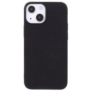 iPhone 13 Fleksibelt TPU Cover - Sort