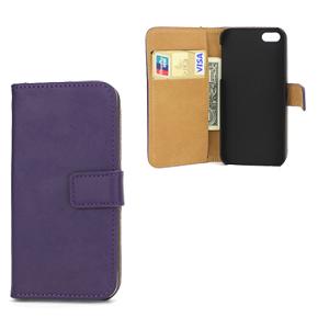 Apple iPhone 5/5S FlipStand Taske/Etui - Lilla