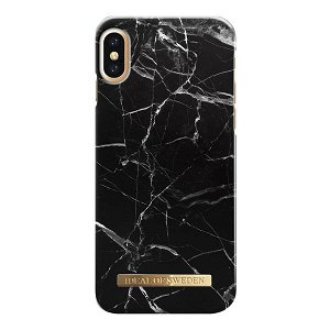 iDeal Of Sweden iPhone XS Max Cover - Black Marble