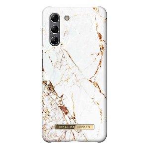 iDeal Of Sweden Samsung Galaxy S21 Fashion Case Carrara Gold