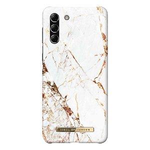 iDeal Of Sweden Samsung Galaxy S21+ (Plus) Fashion Case Carrara Gold