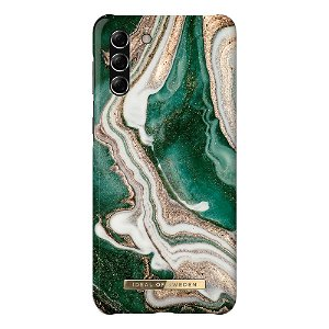iDeal Of Sweden Samsung Galaxy S21+ (Plus) Fashion Case Golden Jade Marble