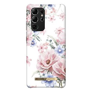 iDeal Of Sweden Samsung Galaxy S21 Ultra Fashion Case Floral Romance