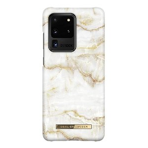 iDeal Of Sweden Samsung Galaxy S20 Ultra Fashion Case - Golden Pearl Marble