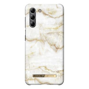 iDeal Of Sweden Samsung Galaxy S21 Fashion Cover Golden Pearl Marble