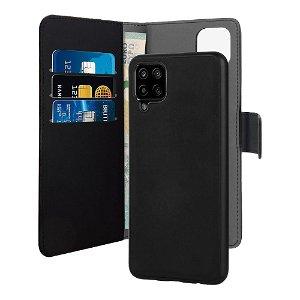Samsung Galaxy A12 Puro Wallet Detachable 2-In-1 Cover - Sort