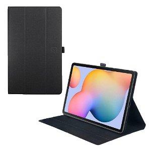 Samsung Galaxy Tab S6 Lite Tucano Gala Folio Flip Cover - Sort