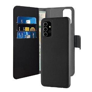 Samsung Galaxy A32 (5G) Puro Wallet Detachable 2-In-1 Cover - Sort