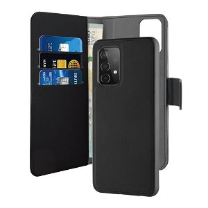 Samsung Galaxy A52s (5G) / A52 (4G / 5G) Puro Wallet Detachable 2-In-1 Cover - Sort