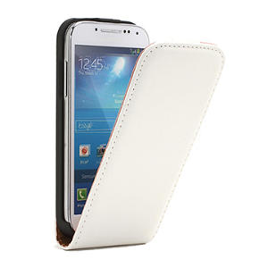 Samsung Galaxy S4 Mini FlipCase Taske/Etui - Hvid