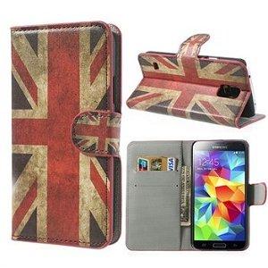 Samsung Galaxy S5/S5 Neo FlipStand Taske/Etui - Union Jack