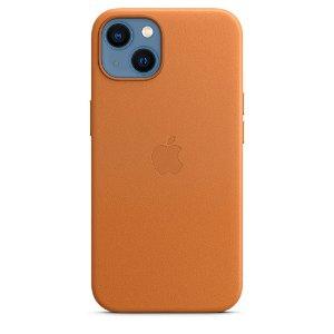 Original Apple iPhone 13 Læder MagSafe Cover Midnat (MM183ZM/A)