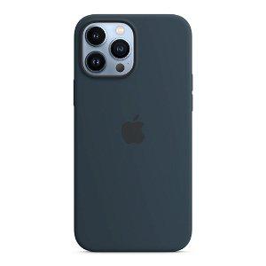 Original Apple iPhone 13 Pro Max Silikone MagSafe Cover Mørk Dybhavsblå (MM2T3ZM/A)
