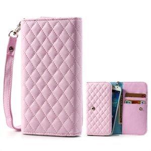 Billede af Flot taske med rem og kreditkortholder - pink