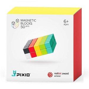 PIXIO 50 Magnetic Blocks – Starting-Kit – 6 Colors