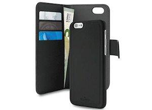 PURO Magnet Wallet 2-i-1 iPhone 8/7 & iPhone 6, 6S - Sort