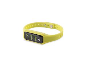 PURO Smartband Fitness/Sleep Tracker - Gul/Sort