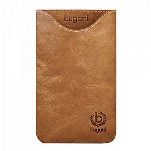 Bugatti Skinny Desert Leather luksus mobiltaske/etui - brun læder