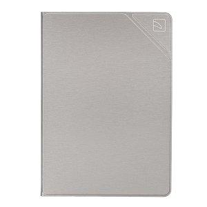 "iPad 10.2"" (2021 / 2020 / 2019) Tucano Metal Folio Case & Apple Pencil Holder - Sølv"