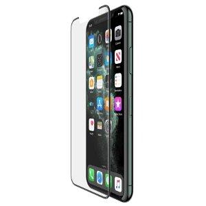 iPhone 11 / XR Belkin InvisiGlass UltraCurve Panser Glas - Case Friendly - Sort Ramme